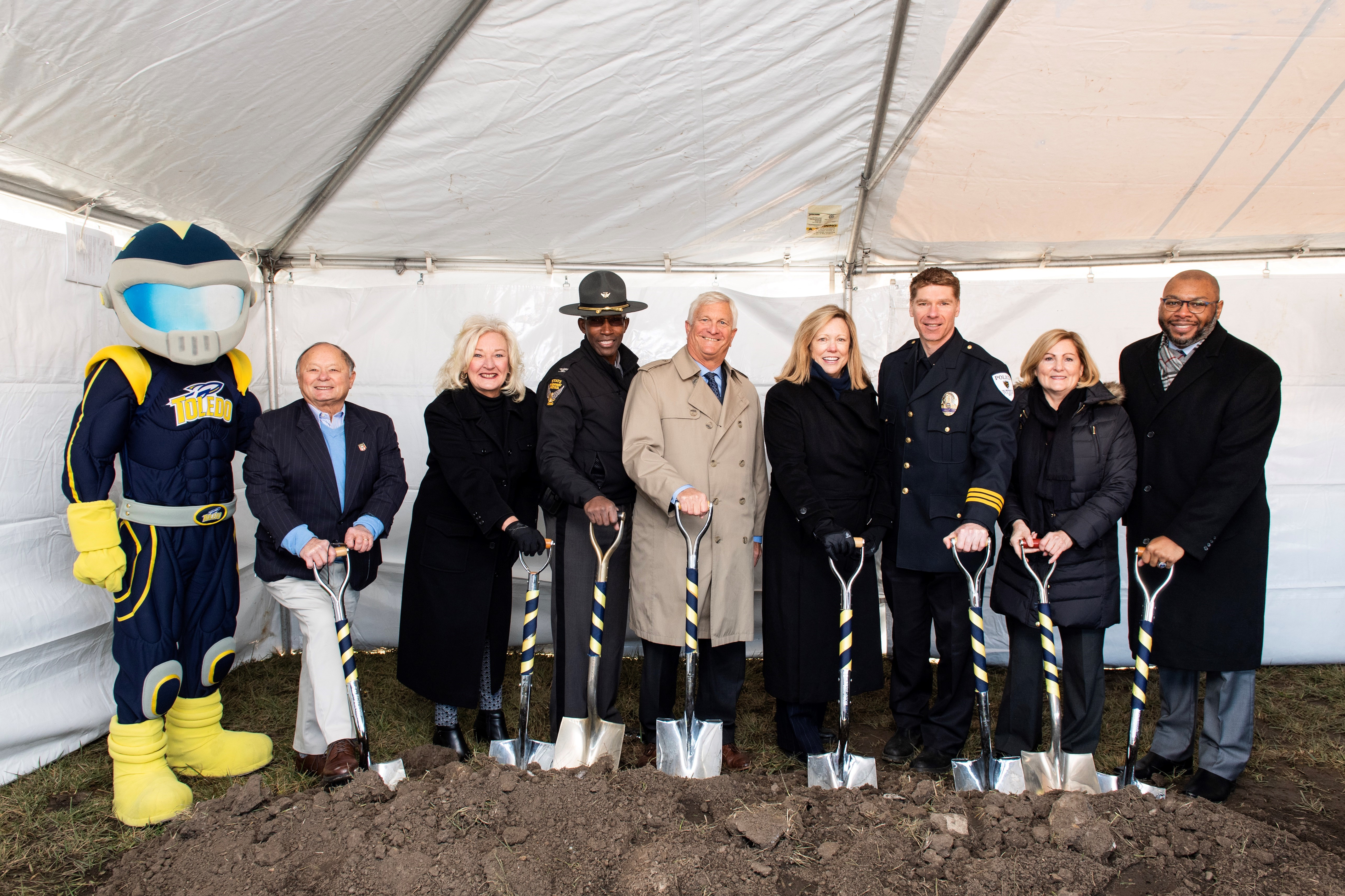 Toledo Post Groundbreaking