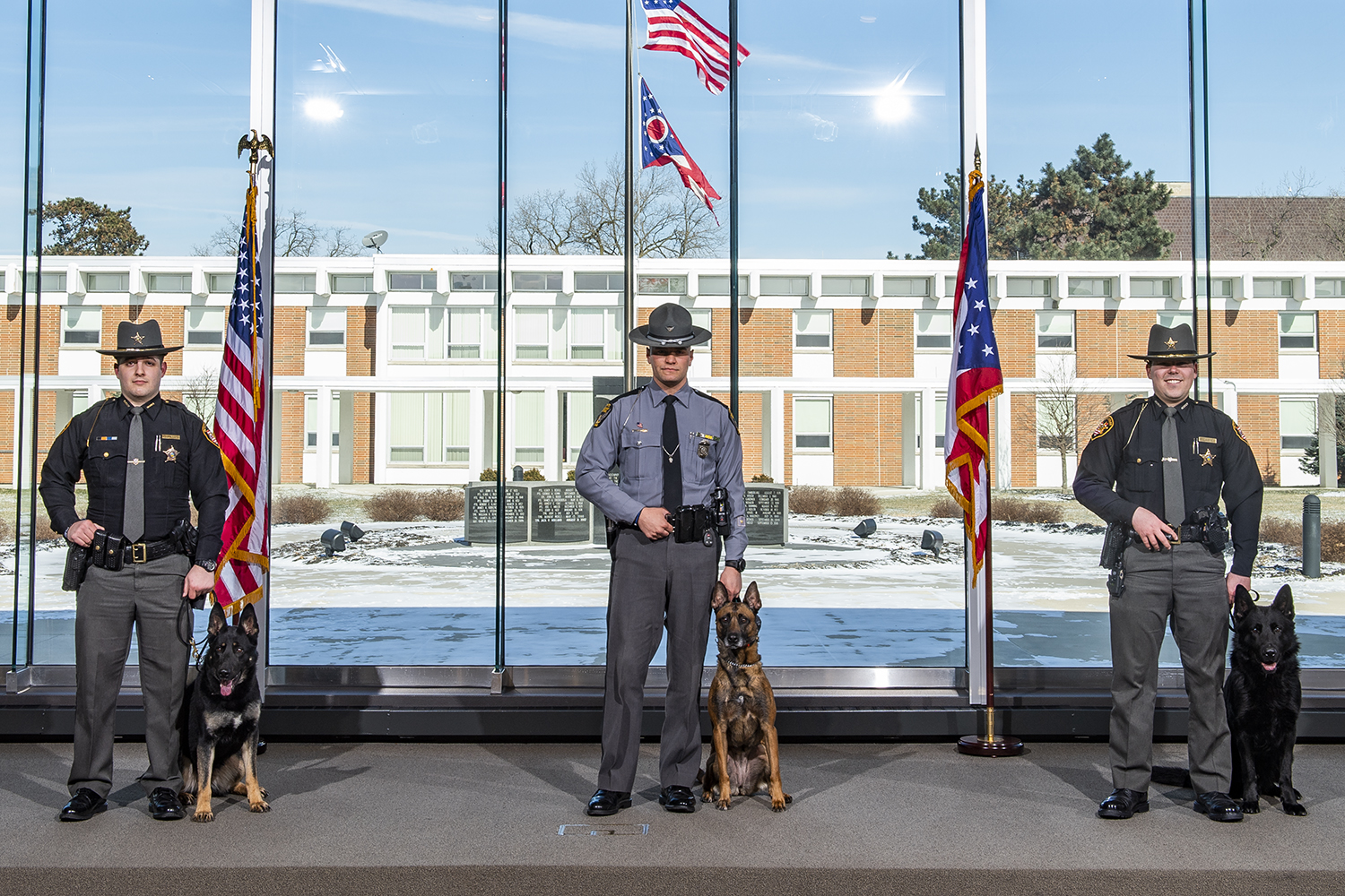 K9 officers graduate