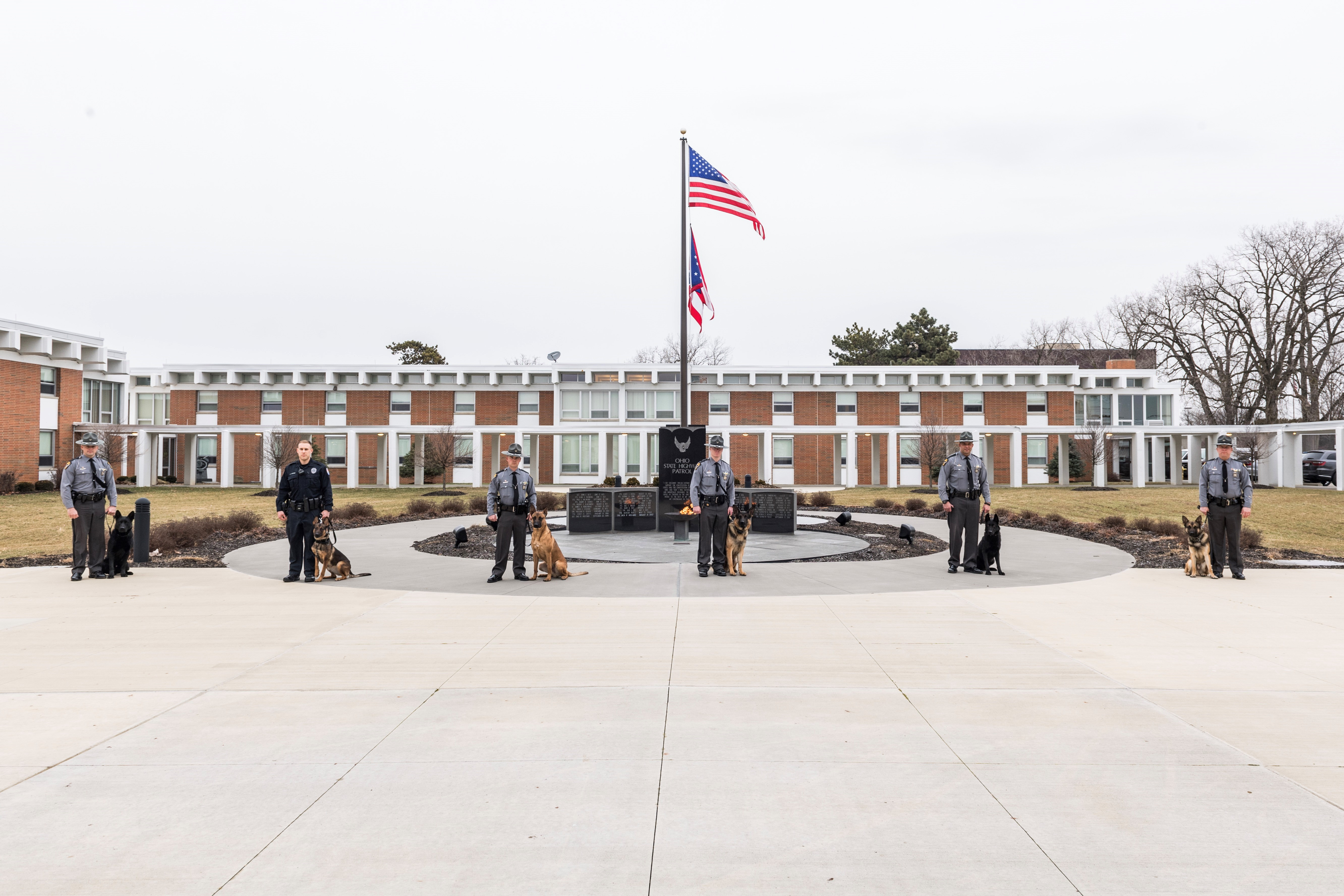 Graduates Include: K9 Rexey With Trooper James Baker From The Cleveland  District, K9 Xaro With Trooper Griffin Kelley From The Cleveland District,  ...